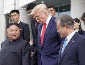 سول: اللقاء الثلاثى بين زعماء الكوريتين والولايات المتحدة يسطر تاريخا جديدا