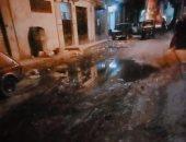 شكوى من سوء حال الصرف الصحى بشارع الإصلاح الفلكى السيوف بالإسكندرية