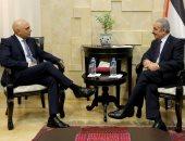 رئيس وزراء فلسطين يلتقى وزير داخلية بريطانيا.. ويؤكد: إسرائيل خرقت كل الاتفاقيات