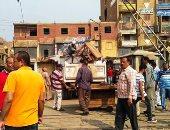 شرطة المرافق تواصل حملاتها على المنطقة الأثرية بالهرم