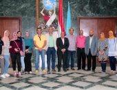 """جامعة طنطا: انطلاق برنامج تبادل الطلاب للجامعات العربية بزيارة لجامعة """"نزوى"""" بعمان"""