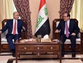 الرئيس العراقى يبحث مع نورى المالكى مستجدات الأوضاع  الأقليمية