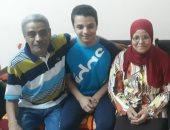 الأول فى التعليم الفنى بقنا: أخذت محمد صلاح قدوة لى وأشكر أسرتى على دعمهم