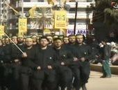 شاهد.. انسحاب ميليشيا حزب الله من الأراضى السورية