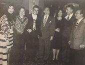 بوسى شلبى تسترجع ذكرياتها مع عزت أبو عوف بصورة نادرة