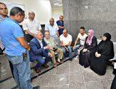 صور .. إقبال المواطنين على التسجيل بمنظومة التأمين الصحى الشامل ببورسعيد