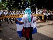 استمرار المظاهرات فى نيكاراجوا للمطالبة بإقالة حكومة الرئيس أورتيجا