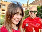 جنات تهنئ منتخبها المغربى على التأهل فى أمم أفريقيا