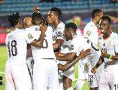 غانا تتقدم على غينيا بيساو 1-0 فى الدقيقة الأولى من الشوط الثاني