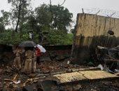 مصرع العشرات فى الهند بعد انهيار جدار بسبب الأمطار الغزيرة