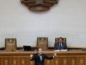 صور.. جوايدو يلقى كلمة أمام البرلمان الفنزويلى