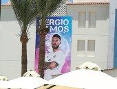 شاهد.. الغردقة تتزين بصور قائد ريال مدريد الإسبانى قبل وصوله اليوم