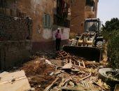صور.. جهاز العاشر من رمضان يواصل حملاته لإزالة الإشغالات من الأحياء السكنية