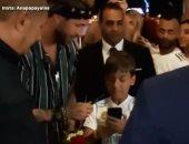 شاهد أول ظهور لـ راموس فى الغردقة على أنغام نشيد ريال مدريد