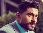 خالد سليم يعزى الملحن وليد سعد فى وفاة والدته