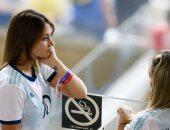 زوجة ميسي تؤازر الأرجنتين فى نصف نهائي كوبا أمريكا