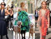 سيلين ديون سيطرت على  أسبوع الموضة في باريس .. اعرف التفاصيل