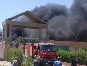 الدفاع المدنى بالوادى الجديد يسيطر على حريق فى مزرعة نخيل دون إصابات
