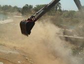 تنفيذ 70% من سحارة مصرف الرهاوى وحملة نظافة بجسر الرياح البحيرى بمنشأة القناطر