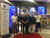 """فريق عمل """"الممر"""" يغادر القاهرة لبدء جولة خارجية للترويج للفيلم"""
