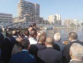 افتتاح الأتوبيس النهرى بالمنصورة.. والرى: لا تهاون مع التعديات على النيل