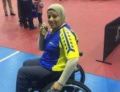 النائبة فايزة محمود تنشر صور تتويجها بذهبية البطولة الأفريقية لتنس الطاولة