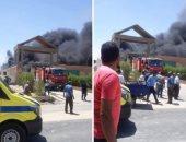 النيابة تستمع لأقوال الشهود ومسؤولى مصنع بلاستيك تعرض للحريق فى 6 أكتوبر