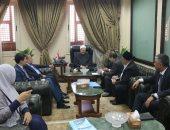 مفتى الجمهورية يستقبل وفدًا من أوزبكستان لبحث التعاون الدينى