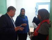 صور.. وكيل صحة جنوب سيناء يتابع سير العمل بالمبادرة القومية لدعم صحة المرأة