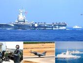 """ختام فعاليات التدريب المصرى الفرنسى """"رمسيس 2019"""" بمسرح عمليات البحر المتوسط"""