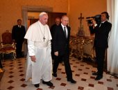 الرئيس الروسى فى زيارة خاطفة للفاتيكان للقاء مسئولين إيطاليين