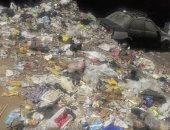 القمامة ومخلفات الأسواق تغلق مدخل شارع بإمبابة