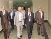 """صور.. لجنة """"الأعلى للجامعات"""" تتفقد كلية الذكاء الاصطناعى بجامعة كفر الشيخ"""