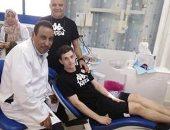 علاج مدافع منتخب تونس من آلام الأسنان بمستشفى كهرباء الإسماعيلية
