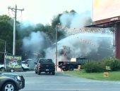 انفجار مستودع ألعاب نارية فى ساوث كارولينا بالولايات المتحدة