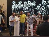 """صور .. عرض فيلم""""الممر """" فى دبى..وإقبال كبير من الجالية المصرية"""