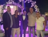 صور.. إسلام سرى يحتفل بزفافه فى الإسماعيلية