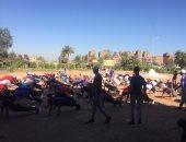 صور .. طلاب جامعة القناة يعرضون مبادرة تطوير عزبة الصفيح بمعسكر إعداد القادة