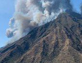انفجار بركان ساكوراجيما باليابان وسحابة رماد بارتفاع 5.5 كيلومتر