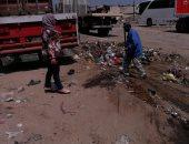 حى ثان المحلة يقود حملة نظافة مكبرة لرفع القمامة بمنطقة المنشية الجديدة