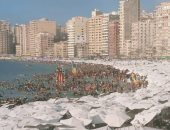 """""""السياحة و المصايف"""" بالإسكندرية: الشواطئ كاملة العدد وخاصة يوم الجمعة"""
