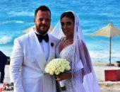 الصور الأولى من حفل زفاف نجل ماجد المصرى بالساحل الشمالى