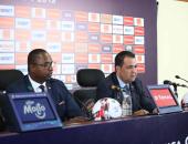 سكرتير عام الكاف فى مؤتمر صحفى: لم نتلق شكاوى بوجود تلاعب فى مباراة الكونغو وزيمبابوى