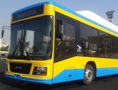 صور.. انضمام أوتوبيسات جديدة تعمل بالغاز الطبيعى للنقل العام فى القاهرة