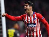 موراتا مهدد بالغياب عن أتلتيكو مدريد ضد إيبار للإصابة