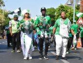 الكاميرون ضد نيجيريا.. جماهير النسور تحول شوارع الإسكندرية إلى كرنفالات