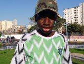 مشجع نيجيرى: درست الشريعة بالأزهر.. والإسكندرية جميلة بجوها وبحرها