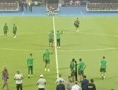 منتخب جنوب أفريقيا يتفقد أرضية استاد القاهرة قبل مواجهة مصر