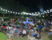 صور .. تجمعات عائلية علي خليج السويس لمساندة منتخب مصر للوصول للربع نهائي