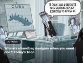 بكاريكاتير يو إس ايه توداى.. كيندى يتمنى لو كان لديه ابنه مثل إيفانكا